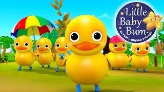 Six Little Ducks | From Five Little Ducks | Nursery Rhymes | by LittleBabyBum