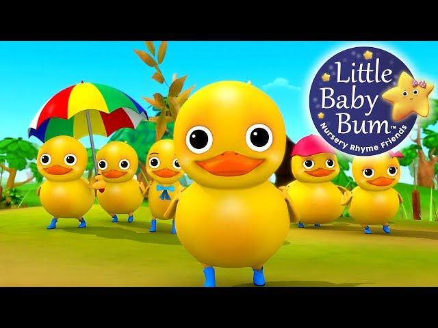 Six Little Ducks   From Five Little Ducks   Nursery Rhymes   by LittleBabyBum!