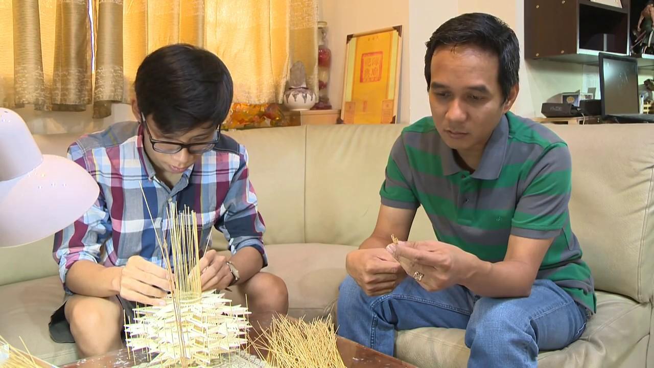 Chùa một cột thu nhỏ làm từ tăm Giang trong lòng Sài Gòn