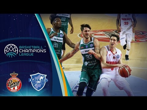 AS Monaco v Dinamo Sassari - Full Game - Basketball Champions League