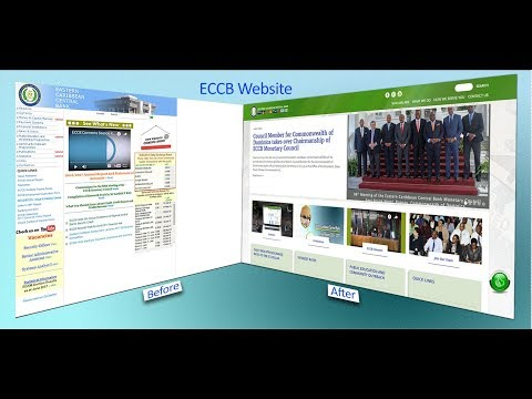 ECCB Launches New Website