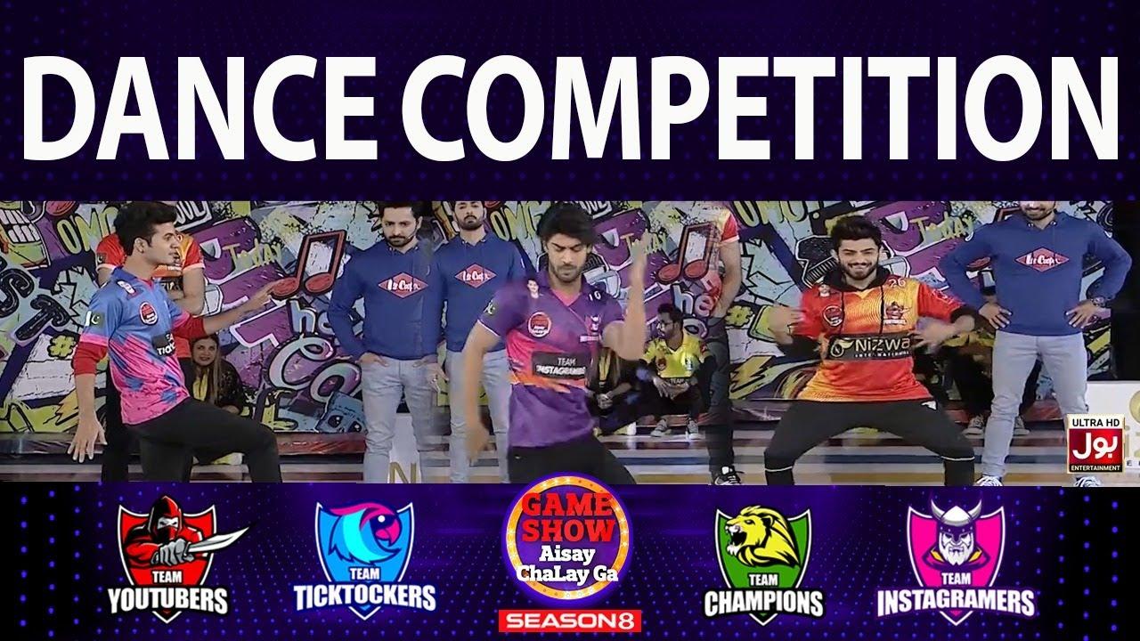 Download Dance Competition In Game Show Aisay Chalay Ga Season 8   Danish Taimoor Show   TikTok
