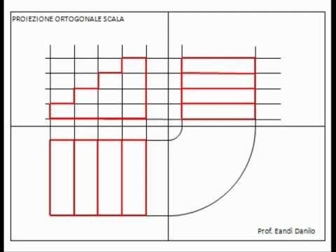 Assonometria isometrica scala a 2 rampe  Doovi