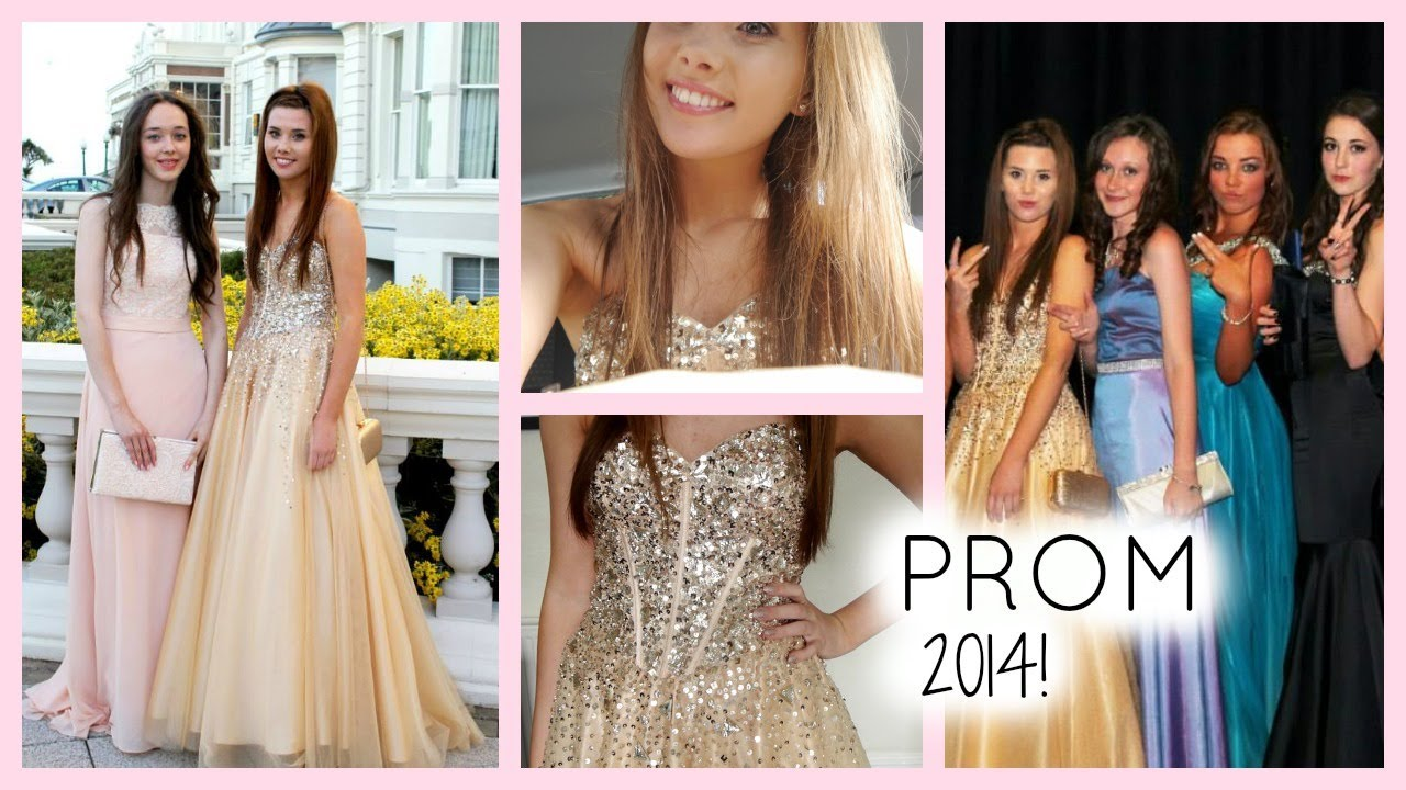 Get prom ready with me hair makeup dress - Get Ready With Me Prom 2014