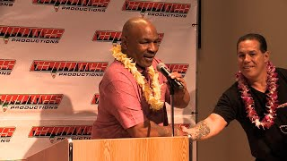 Tyson in Honolulu for second round of