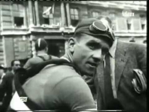 Tour De France les années 30-40-50 avec Coppi Bobet..ect.