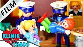 Playmobil Film deutsch JULIAN & HANNAH AUF DER FLUCHT vor Pflege-Familie | Familie Vogel Klinikchaos