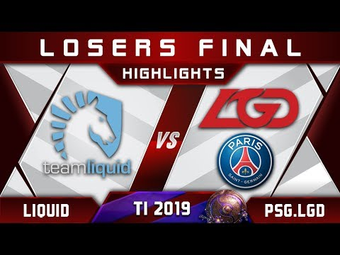 Liquid vs PSG.LGD TI9 [EPIC] LB Final The International 2019 Highlights Dota 2