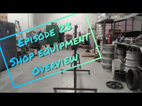 Unknown Coatings - Ep 23 - Powder Coating Shop Equipment Overview