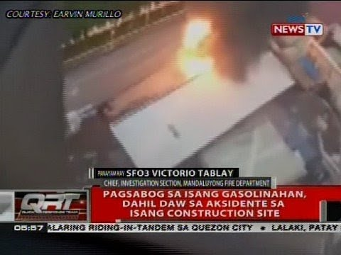 Panayam kay SFO3 Victorio Tablay, chief, investigation section, Mandaluyong Fire Department