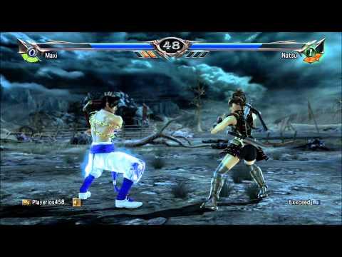Soul Calibur 5 Ranked Match Maxi, Xiba VS Natsu