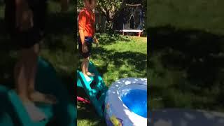 Hershy outdoor shower invention