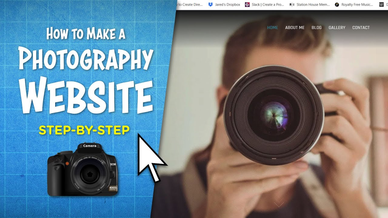 How to Make a Photography Website | Step-By-Step For Beginners