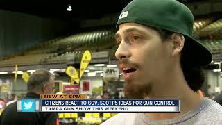 Citizen react to Gov. Scott