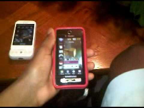 t-mobile g1 vs samsung behold