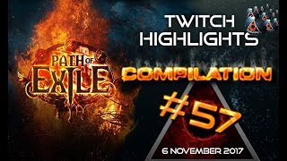 Path of Exile highlights | Zizaran rip twice, bosspack drops 5 uniques | poe rips, Close Calls #57