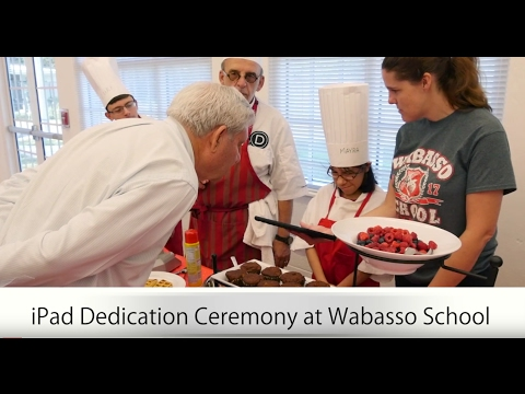 Wabasso School Speak Up Program iPad Dedication