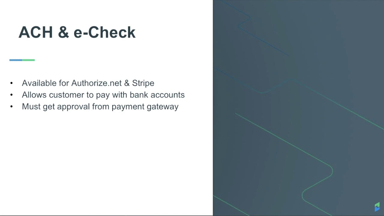Chargify: How to accept payments without credit cards