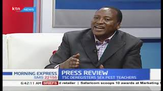 Press Review:Cleaner exam#KCPE2018, Better grades as girls shine.