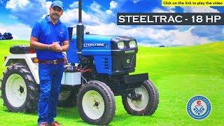 Steeltrac 18 HP Tractor - in HINDI