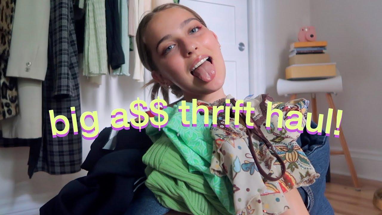 a big a$$ summer thrift haul