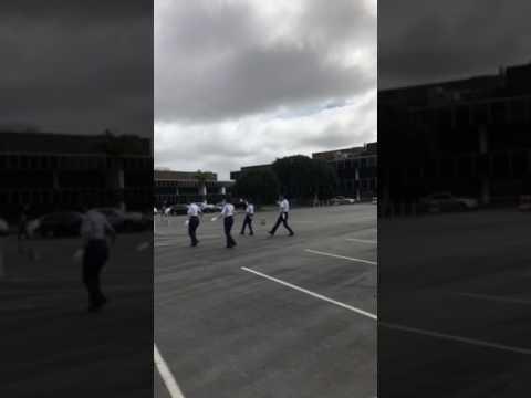 SCIDM 2017- CA782 Air Force JROTC 4-Man Unarmed Drill Team 🇺🇸