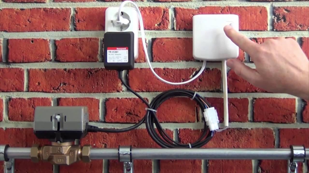 Iets Nieuws Tweewegklep aansluiten op de BDR91 | Honeywell Home - YouTube PW23