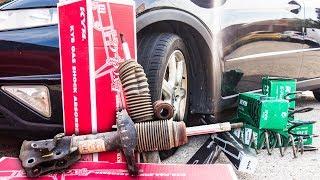 Como Cambiar la Suspension del Coche  | Amortiguadores y Muelles (Delanteros y Traseros)