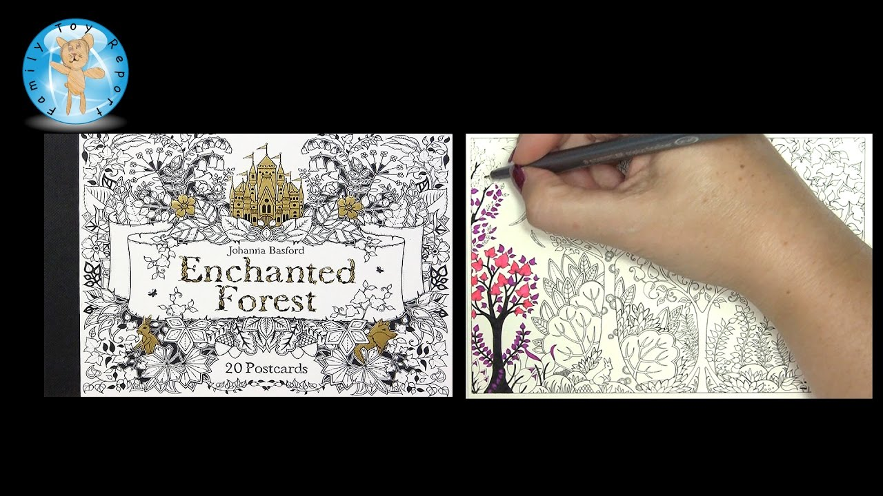 Garten Design Owl Enchanted Forest 20 Postcards Johanna Basford Adult Coloring Book Bunny Owl Family Toy Report