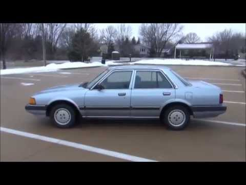 1985 Honda Accord DX 5MT - Full Vehicle Tour - YouTube