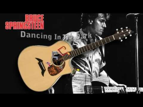 Dancing In The Dark - Bruce Springsteen - Acoustic Guitar Lesson - (easy)