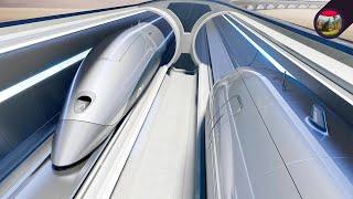 الهايبرلوب.. تقنية المستقبل التي ستجعلنا نسافر بين المدن في دقائق