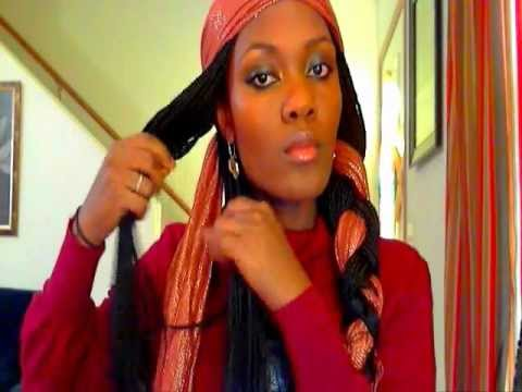Stylish Ways To Wear Head Scarfs Braided Method Youtube