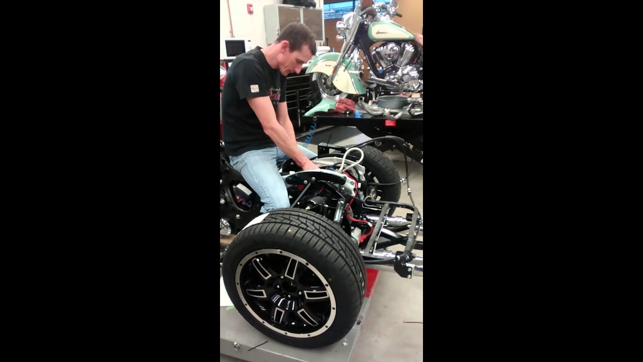 Installing A Motor Trike Kit On An Indian Roadmaster At Indian