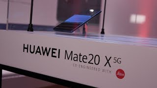 Huawei launches its first 5G phone in UK