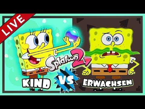 SPLATOON 2 Splatfest #23: Einfach Kindisch! [1080p] ★ Let's Play