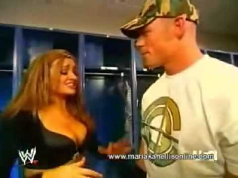 Wrestling - Wwe Raw - John Cena Kisses Maria Kanellis Travel Video