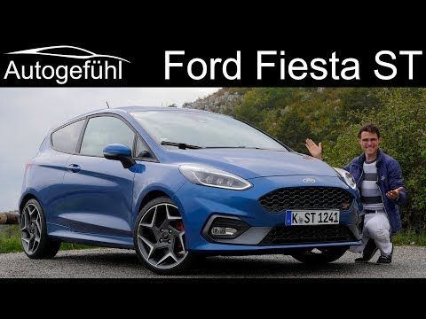 Ford Fiesta ST FULL REVIEW 2019 - is it a real sports car? - Autogefühl
