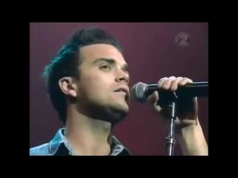 Robbie Williams Live @ Auckland , New Zealand 2000