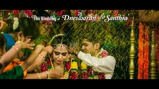Asian Beautiful Hindu Wedding of Dnesh & Santhia by Digimax Video Productions
