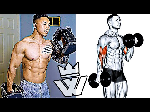 FULL BODY WORKOUT At HOME (Barbell & Dumbbell)