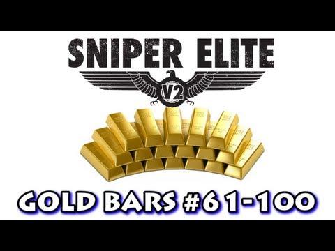 Sniper Elite V2 - All Gold Bar Locations (Part 3)  