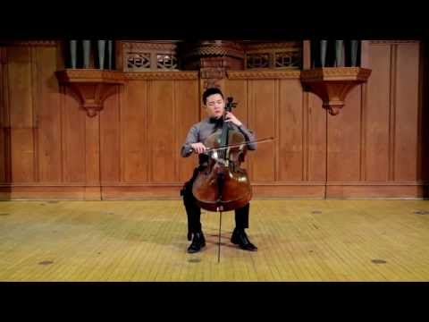 Bach Suite No. 6 in D major: Prelude - Brannon Cho