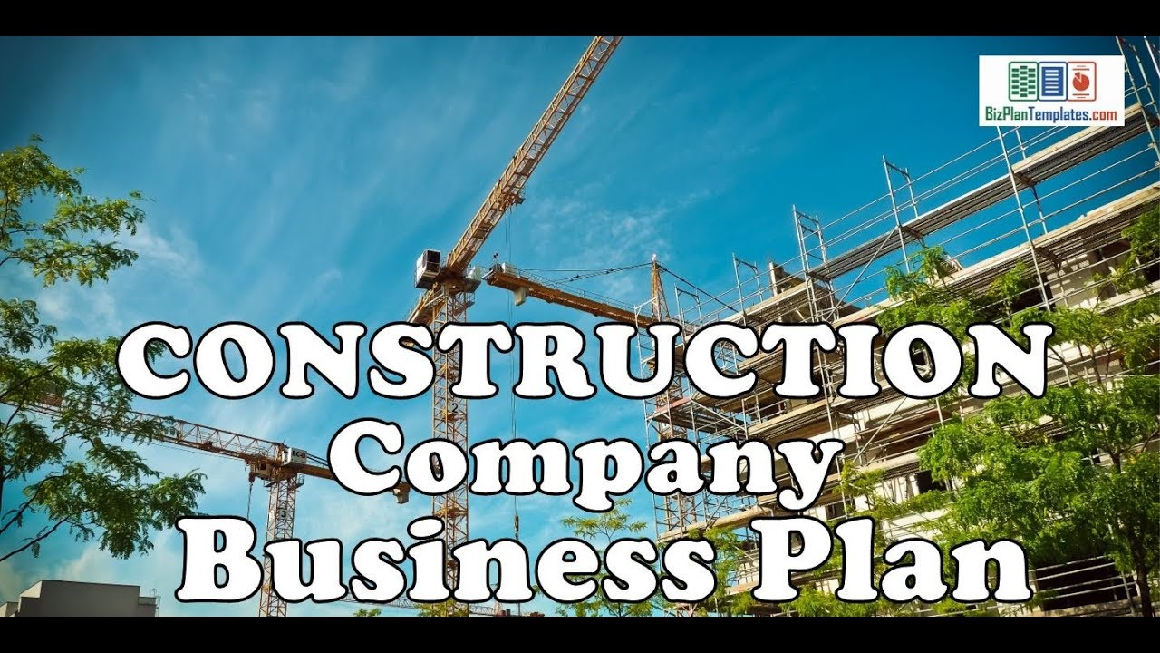 Construction company business plan template with example sample construction company business plan template with example sample accmission Image collections