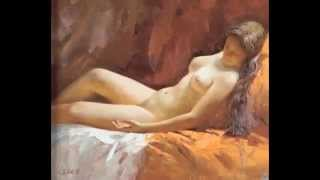 NU, эротика, эротика в живописи, художник Ou Chujian