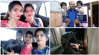 Mayka Day 1:Indian Village Dinner 2018|| Small Trip with Mom ,Dad & Sister