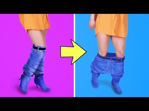 最新流行!クレイジーな服のDIYアイディア31種