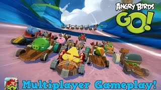 Angry Birds Go! - Multiplayer Gameplay! (1080p HD)