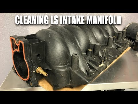 How To Clean A LS Intake Manifold