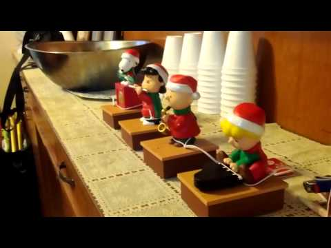 Peanut Gang Musical Christmas Ornament by Hallmark